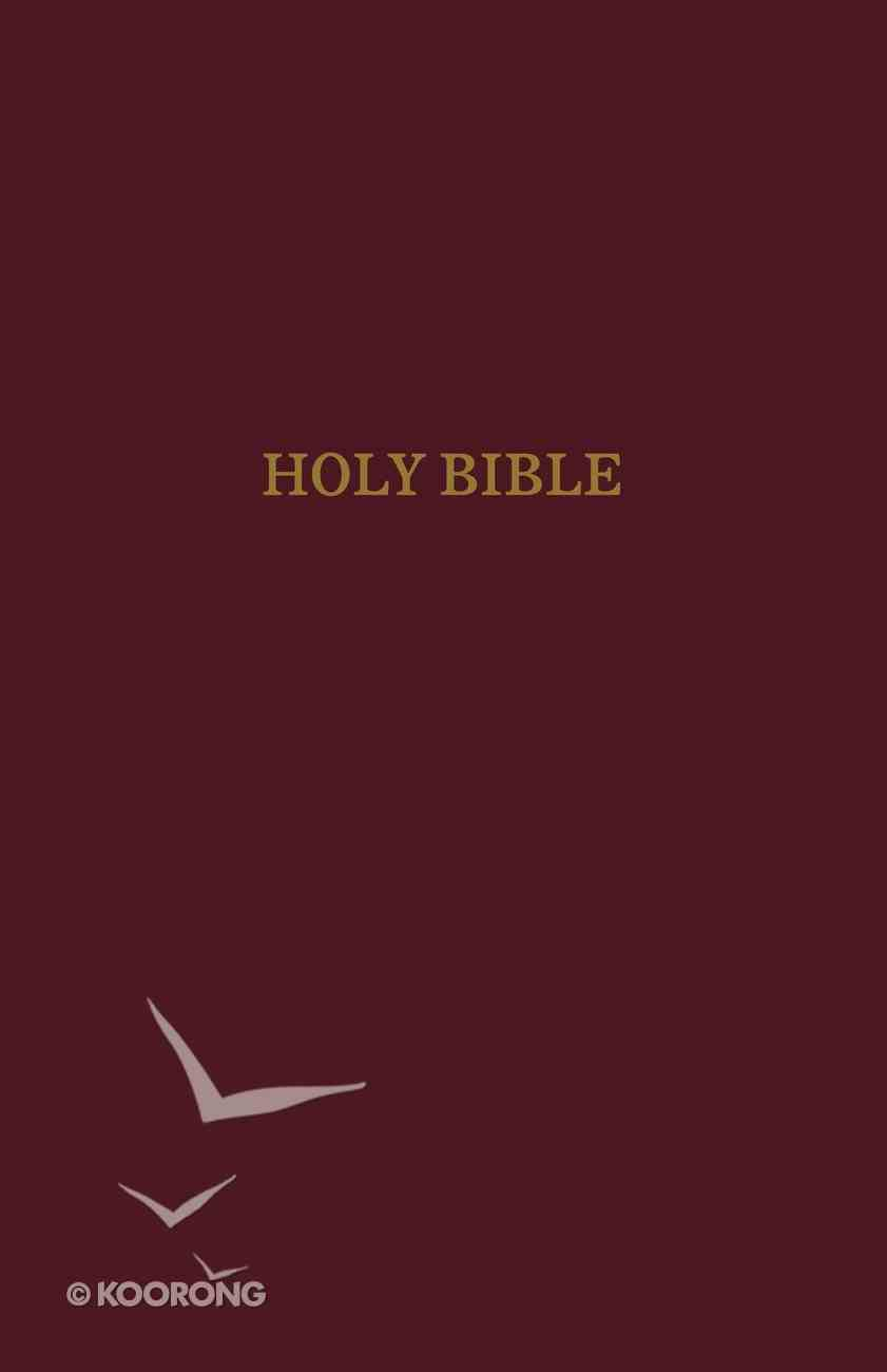 NIV Reference Bible Giant Print Indexed Burgundy (Red Letter Edition) Imitation Leather