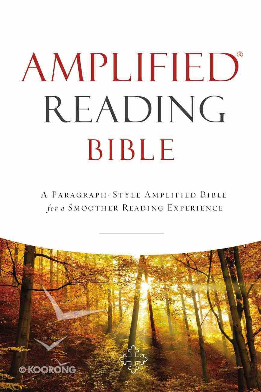 Amplified Reading Bible (Black Letter Edition) Hardback
