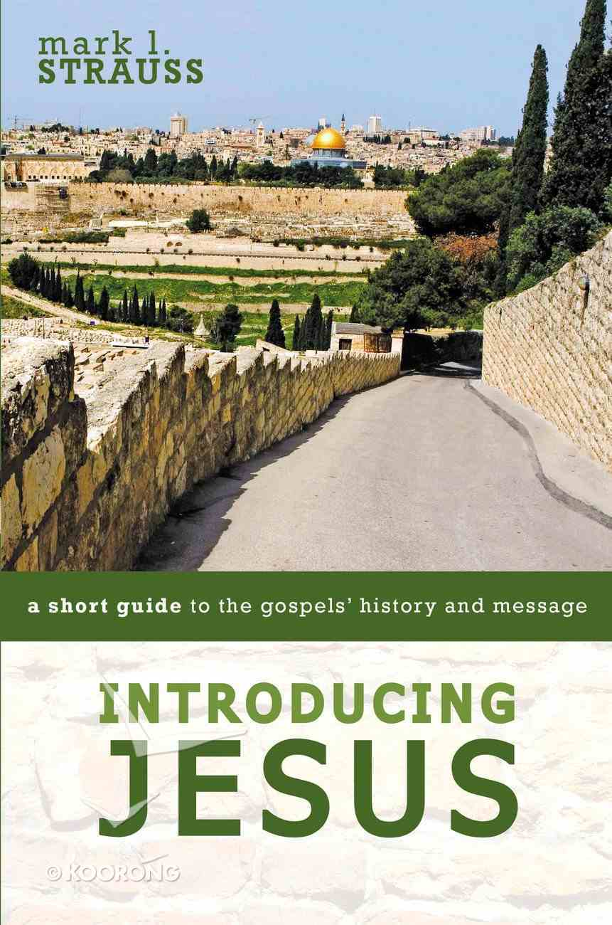 Introducing Jesus: A Short Guide to the Gospels' History and Message Paperback