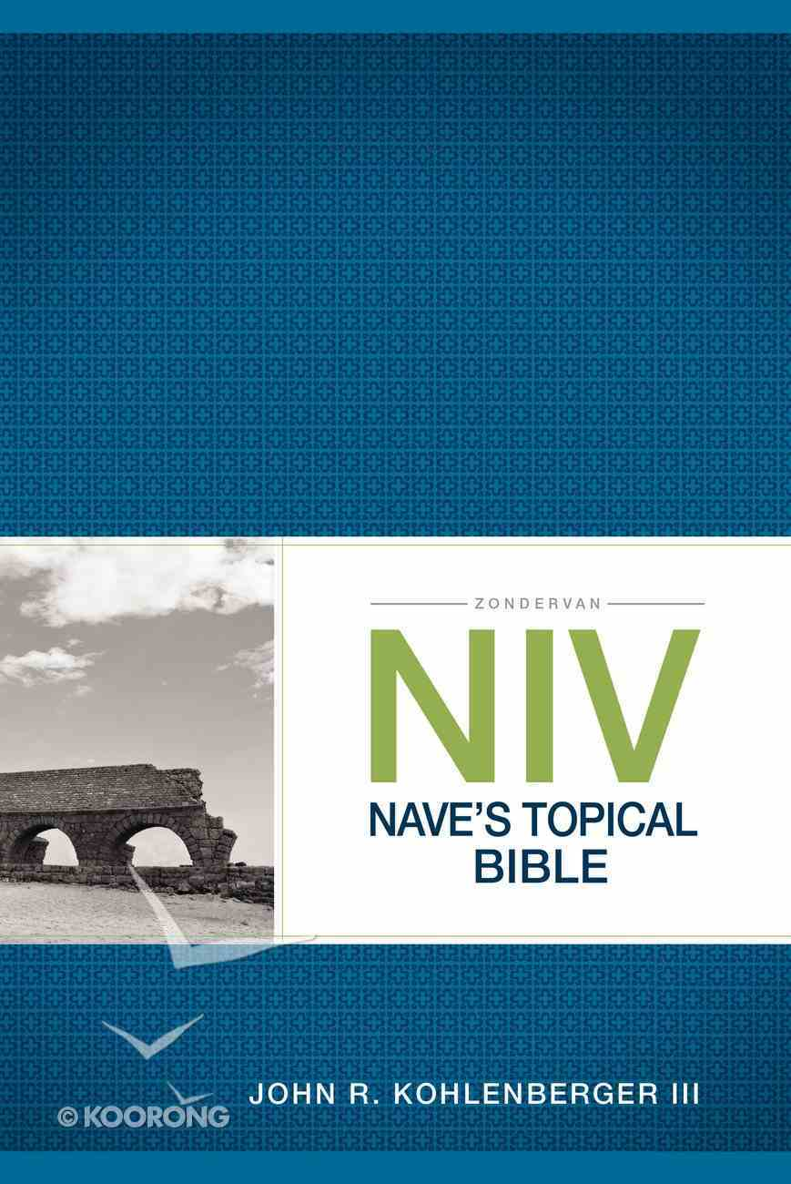 NIV Nave's Topical Bible Paperback