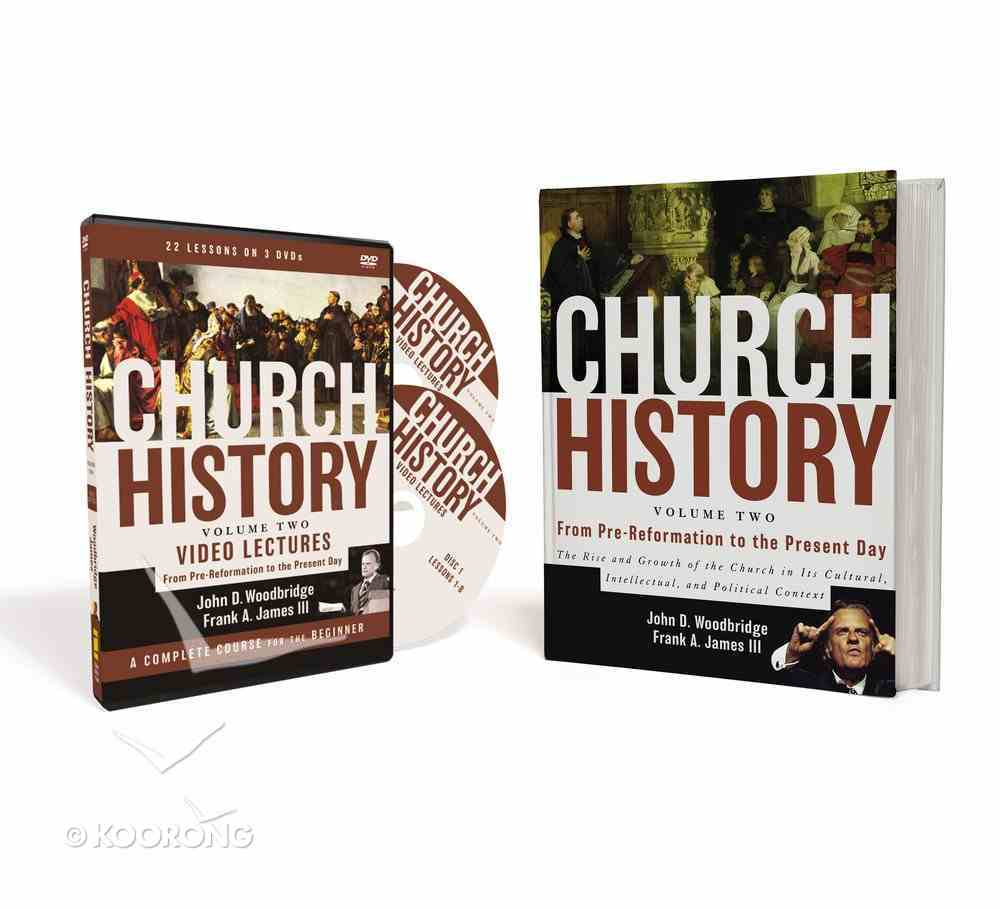From Pre-Reformation to the Present Day (Volume Two Pack) (#02 in Church History Series) Pack