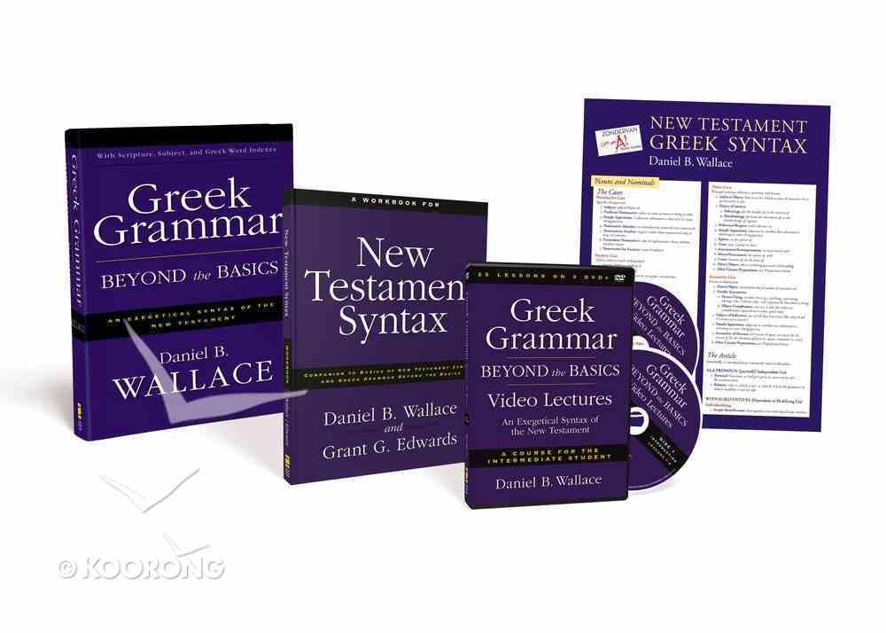 Greek Grammar Beyond the Basics Pack Pack