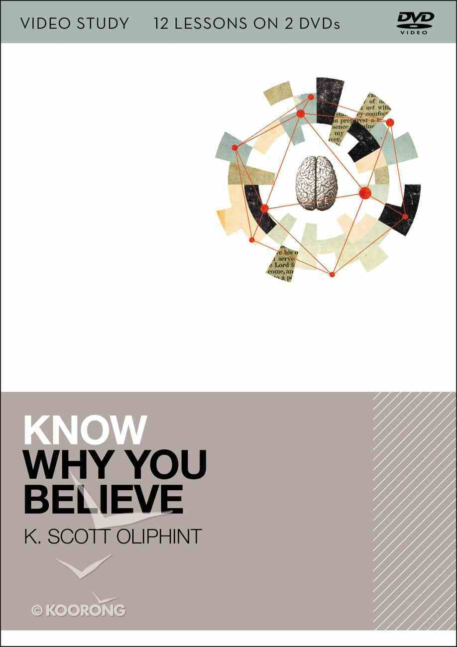 Know Why You Believe: 12 Lessons on 2 DVDS (Video Study) DVD
