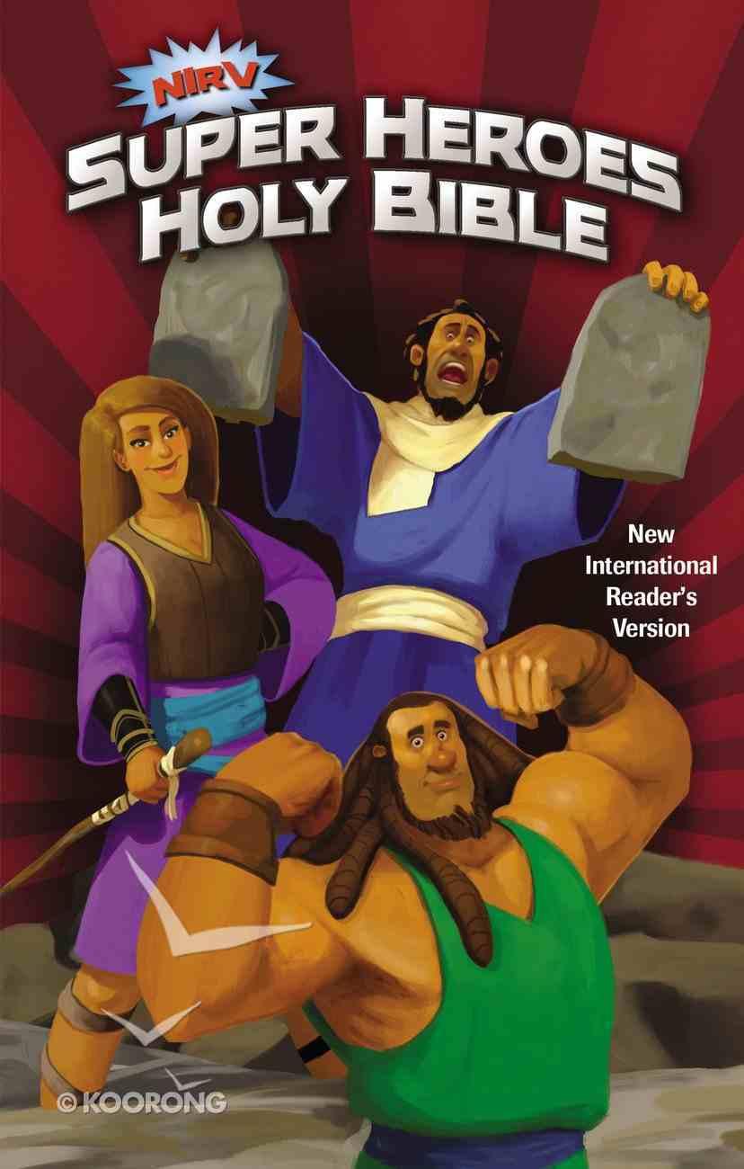 NIRV Super Heroes Holy Bible (Black Letter Edition) Hardback