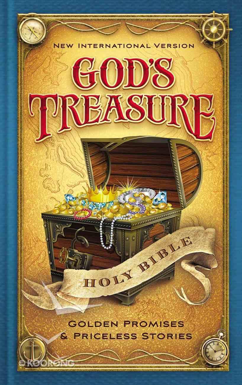 NIV God's Treasure Holy Bible (Black Letter Edition) Hardback