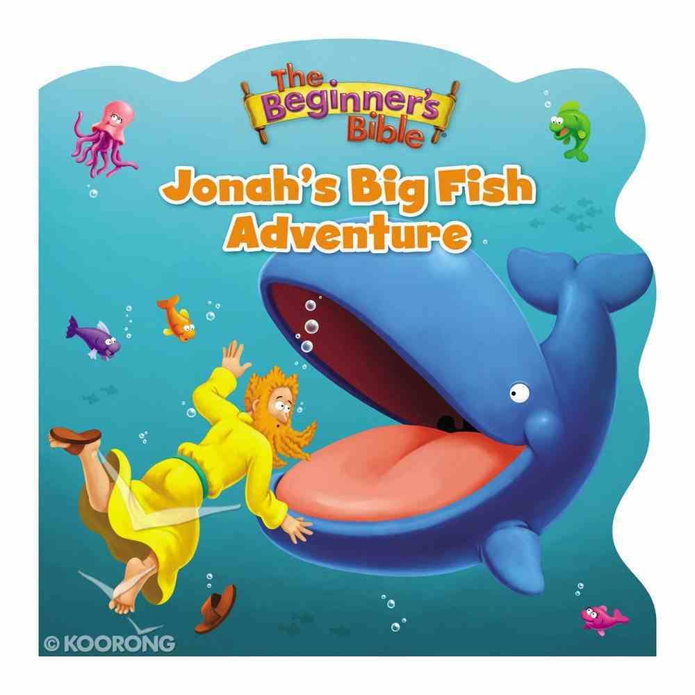 Jonah's Big Fish Adventure (Beginner's Bible Series) Board Book