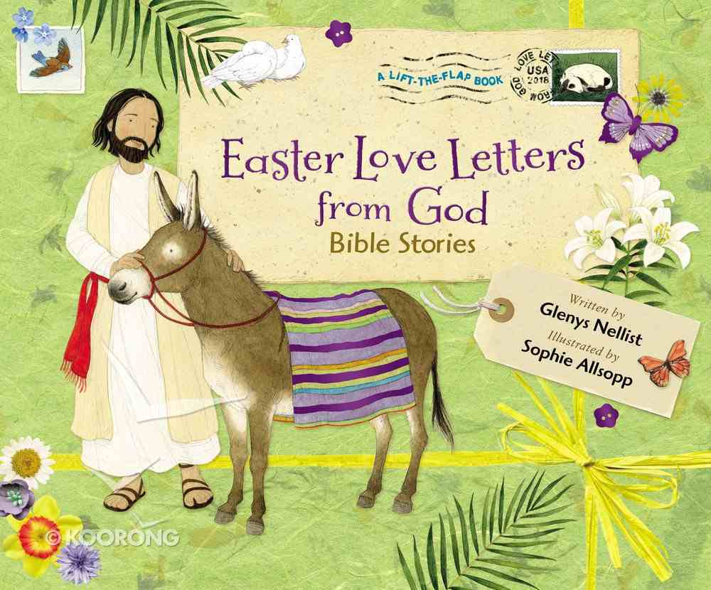 Easter Love Letters From God: Bible Stories Hardback