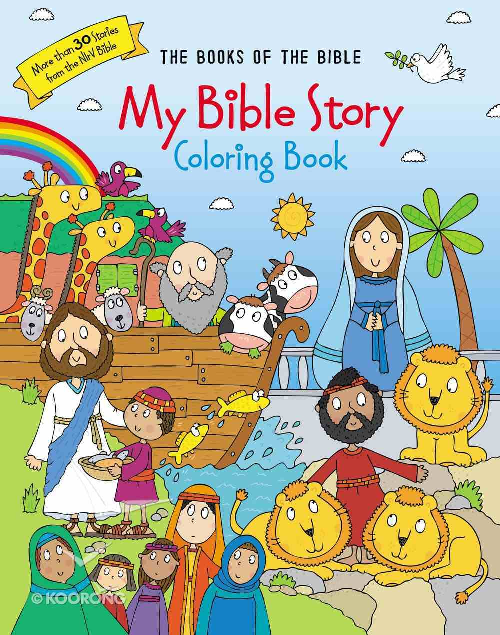 My Bible Story Coloring Book: The Books of the Bible Paperback