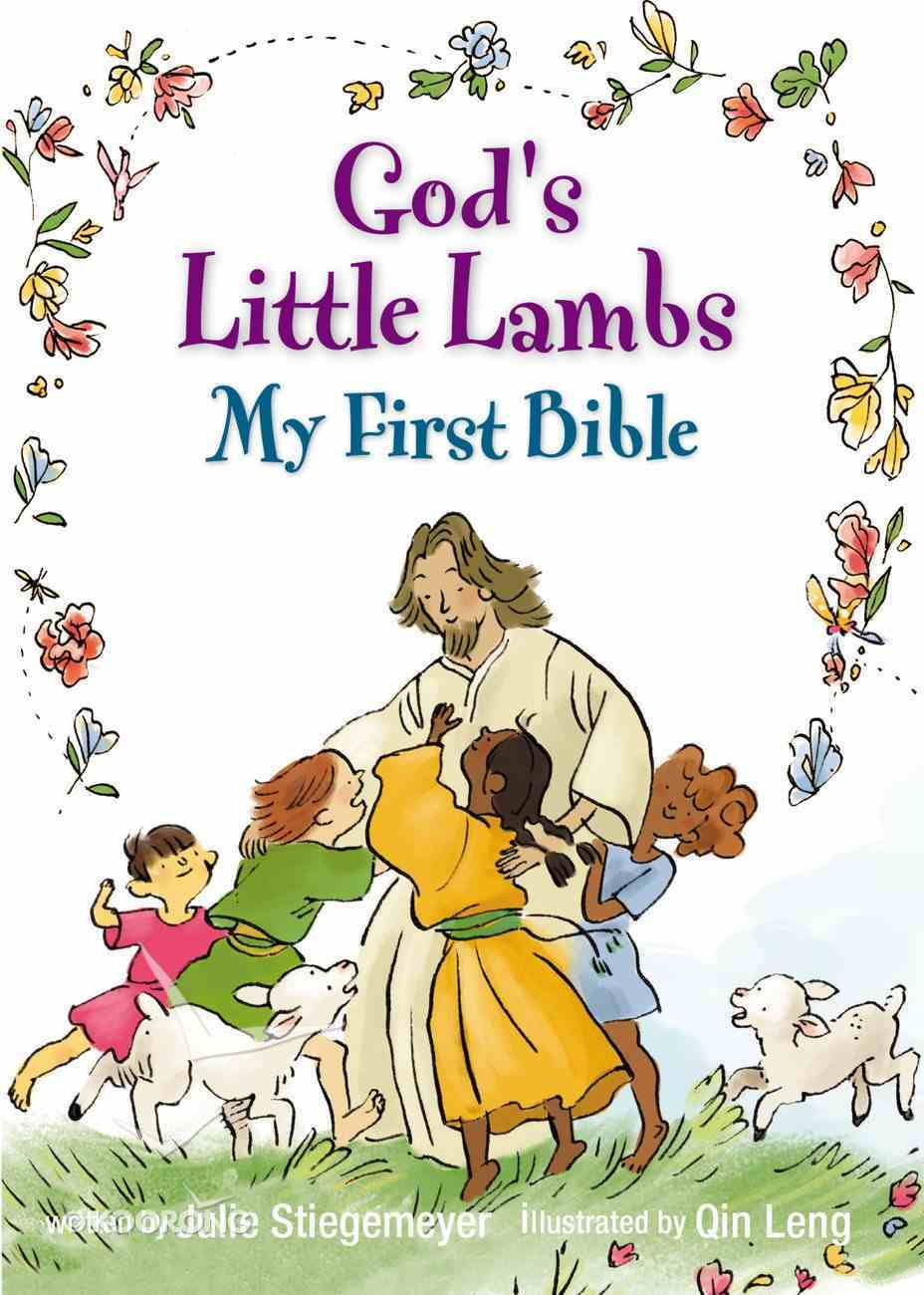God's Little Lambs, My First Bible Board Book