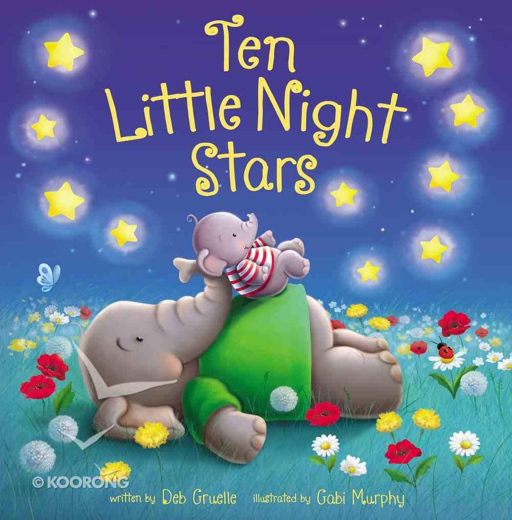 Ten Little Night Stars Board Book