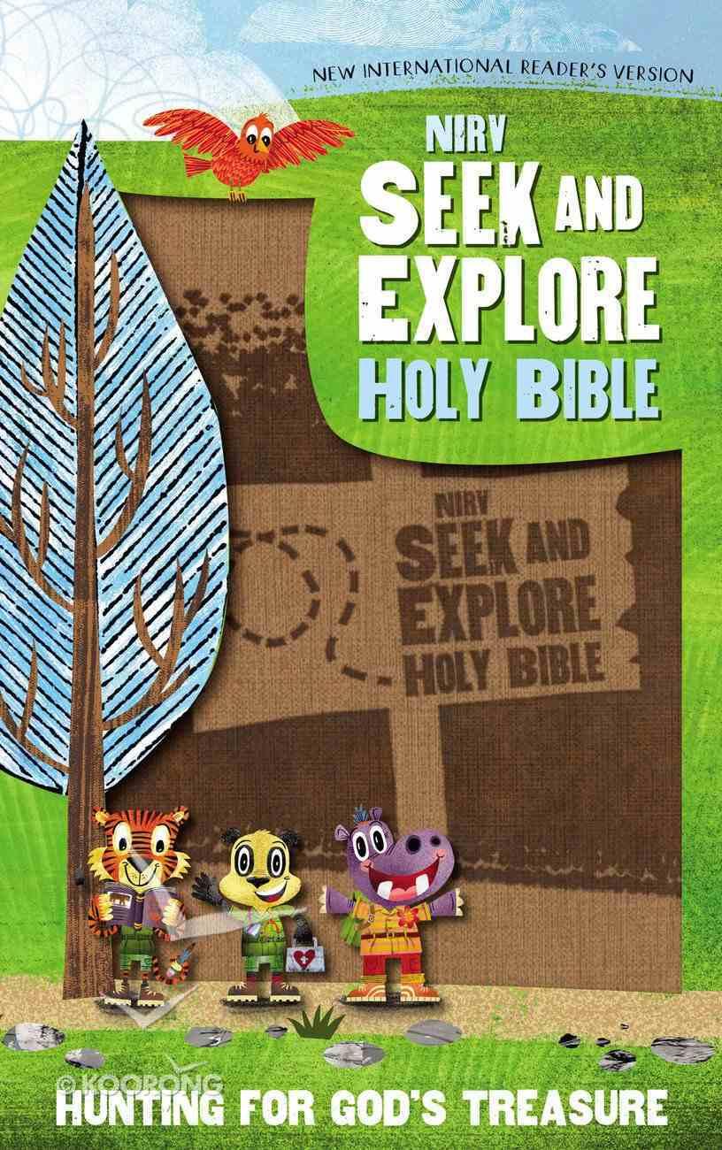 NIRV Seek and Explore Holy Bible Tan (Black Letter Edition) Premium Imitation Leather