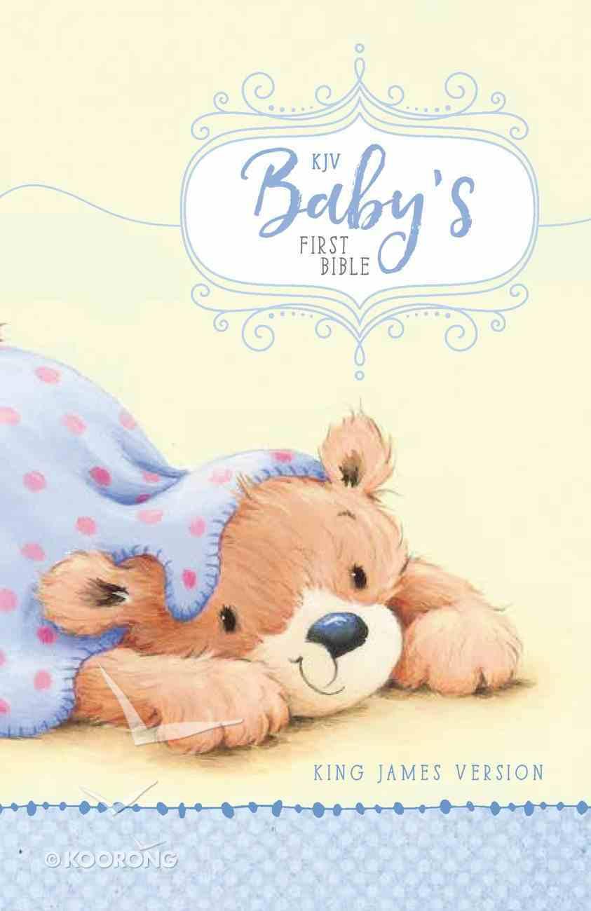 KJV Baby's First Bible Blue Hardback
