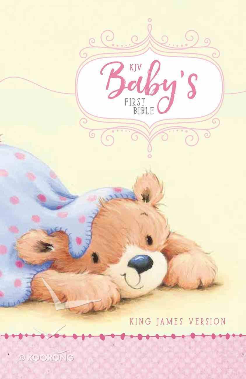 KJV Baby's First Bible Pink Hardback