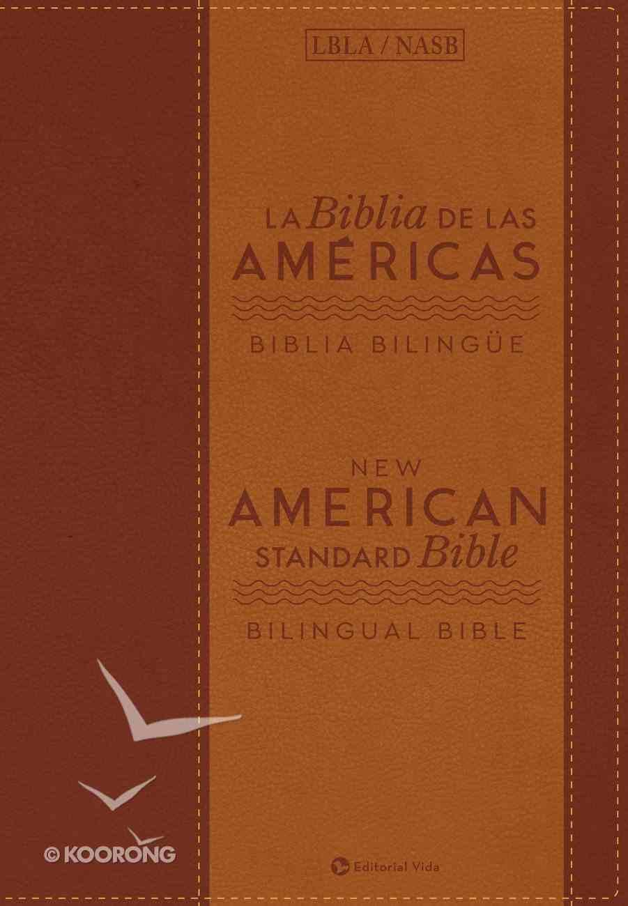 Lbla/Nasb Biblia Bilingue (Bilingual Bible) Imitation Leather