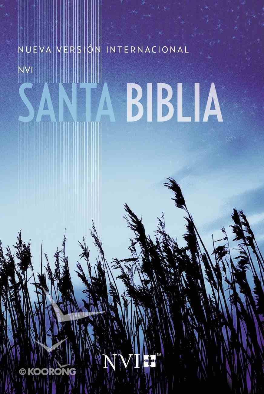 Nvi Santa Biblia Edicion Misionera Azul/Trigo (Holy Bible Outreach Edition Blue, Wheat) Paperback