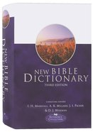 New Bible Dictionary (3rd Edition) Hardback