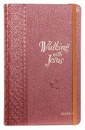 Journal: Walking With Jesus, Red/white image