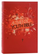 ERV Authentic Youth Bible Red Hardback