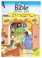 My Mini Bible Sticker Book: Christmas image