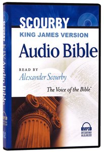 Album Image for KJV Scourby Audio Bible MP3 - DISC 1