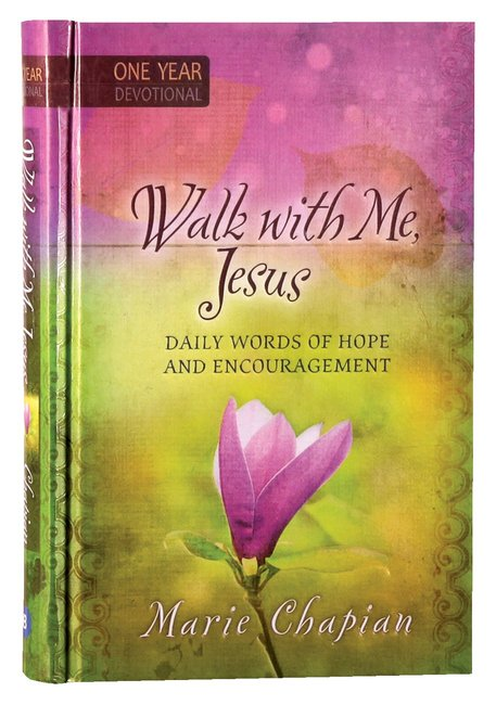 Product: Walk With Me Jesus: Daily Words Of Hope And Encouragement - One Year Devotional Image