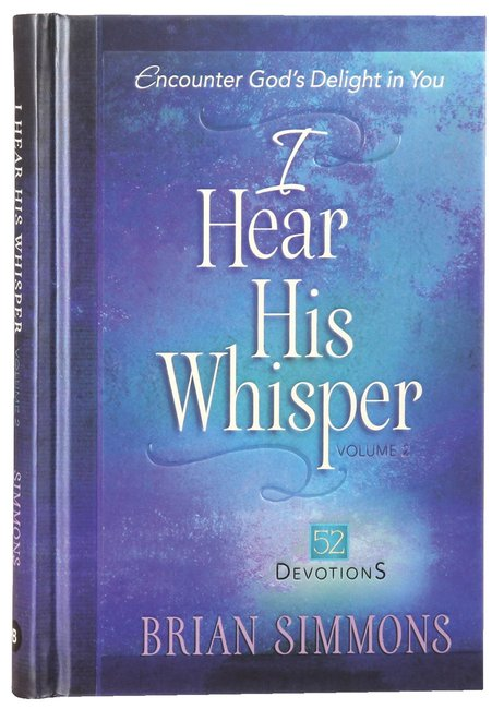Product: I Hear His Whisper #02: Encounter God's Delight In You - 52 Devotions Image