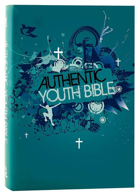 Product: Erv Authentic Youth Bible Teal Image