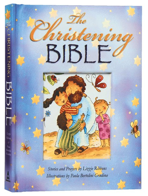 Product: Christening Bible, The (Blue) Image
