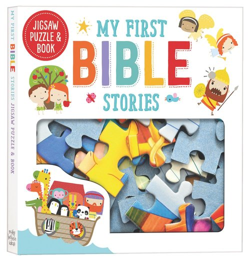 Product: My First Bible Stories: Jigsaw And Book Set Image