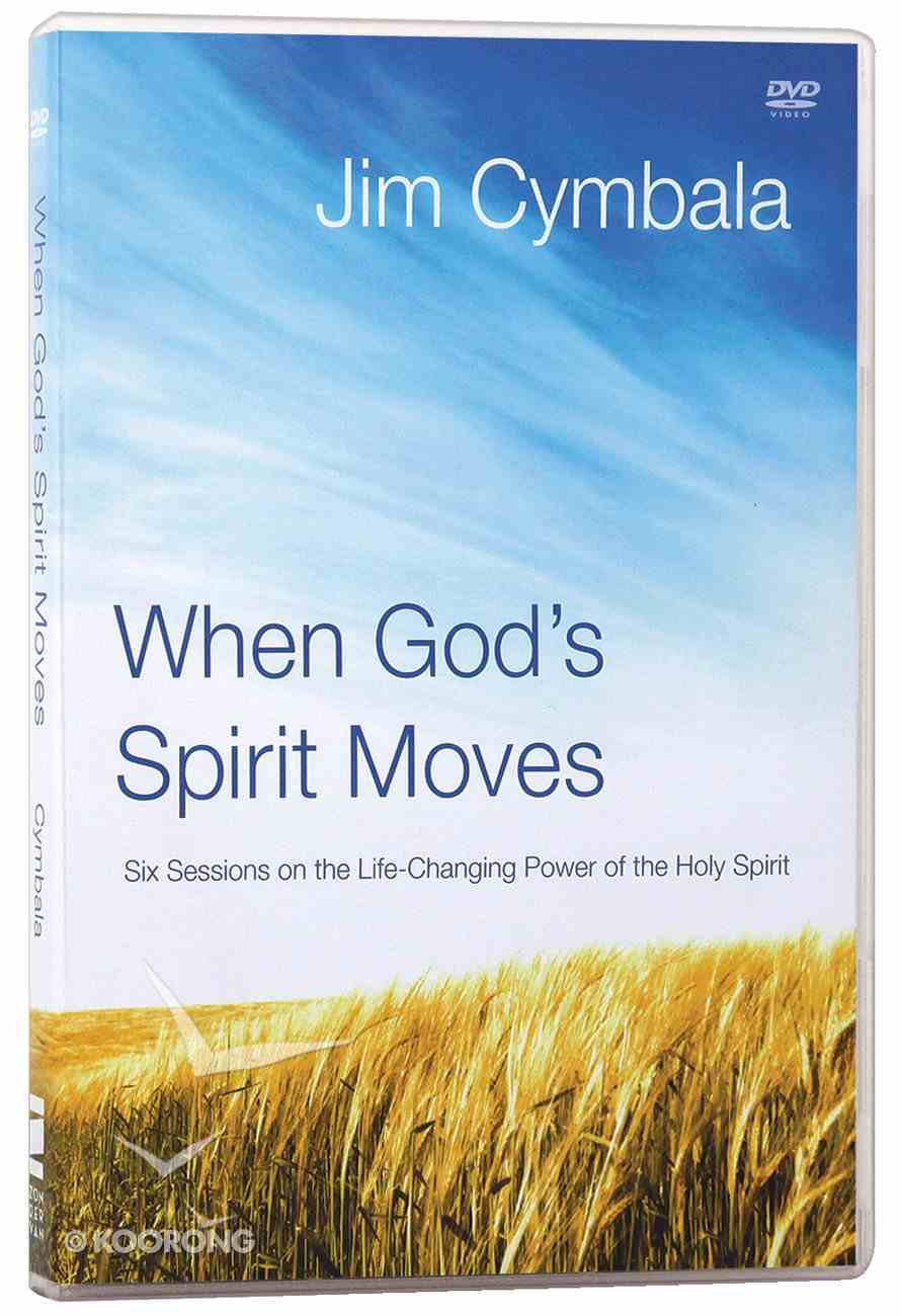 When God's Spirit Moves (Dvd) DVD