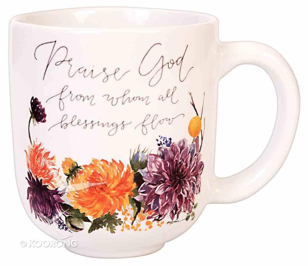 Gracelaced Mug: Praise God From Whom All Blessings Flow Homeware