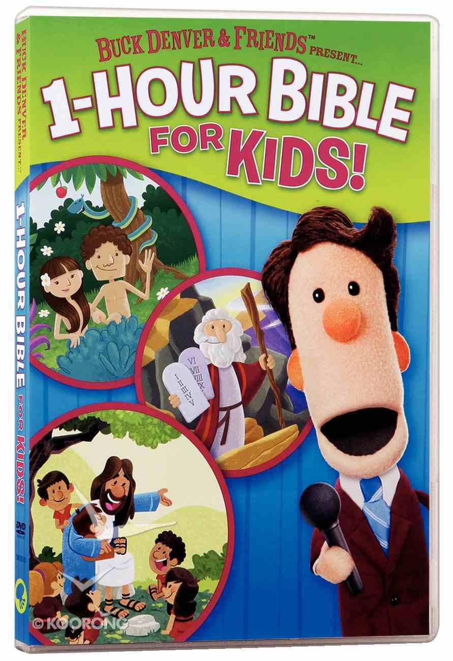 Buck Denver & Friends Presents One Hour Bible For Kids DVD