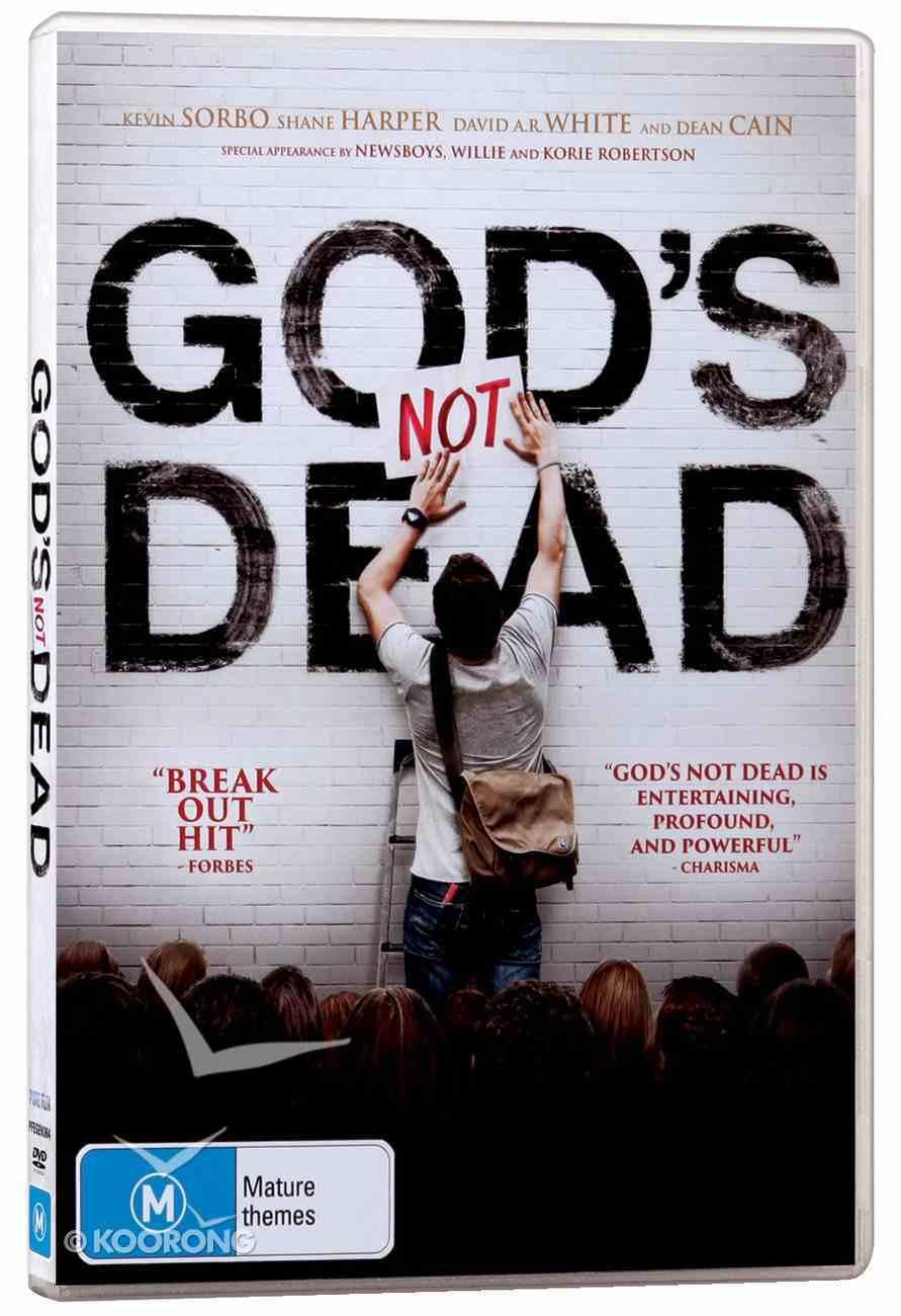 God's Not Dead Movie DVD