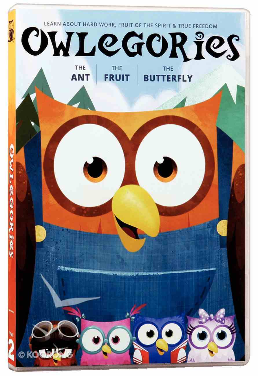 Owlegories #02: The Ant/The Fruit/The Butterfly DVD