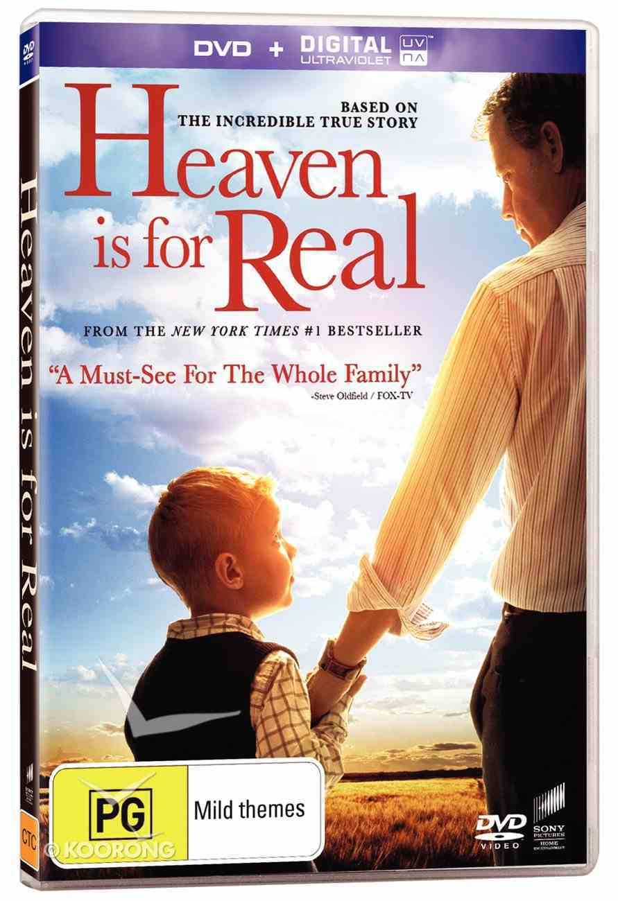 Heaven is For Real Movie DVD