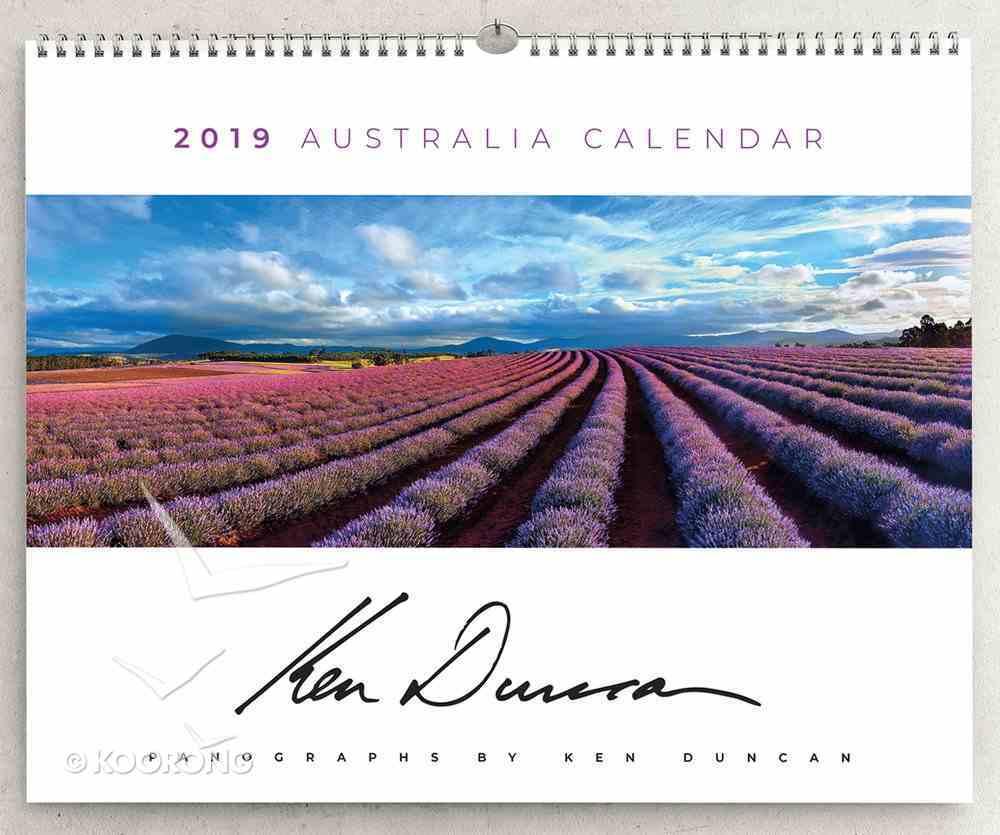 2019 Large Ken Duncan Wall Calendar With Scripture Calendar