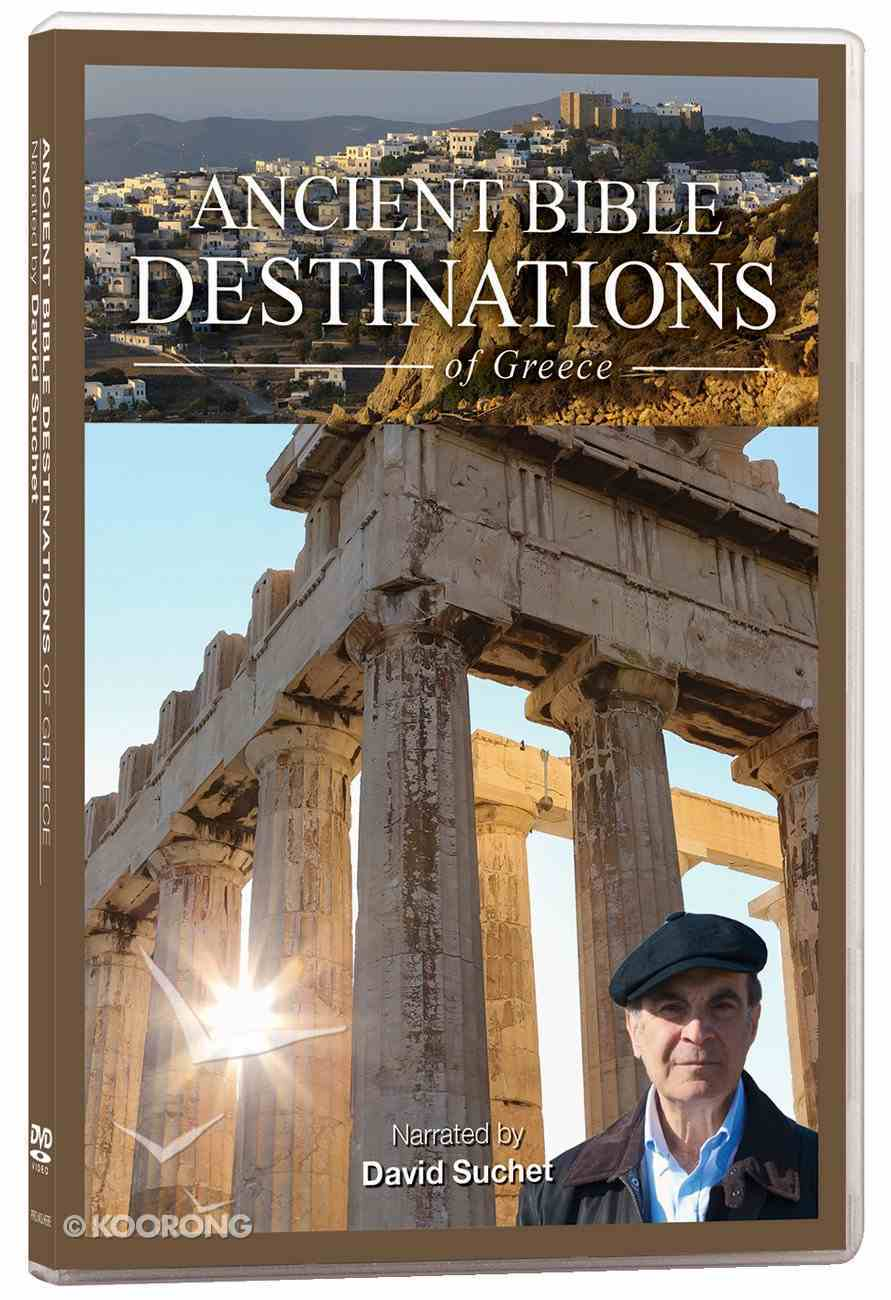 Ancient Bible Destinations of Greece DVD