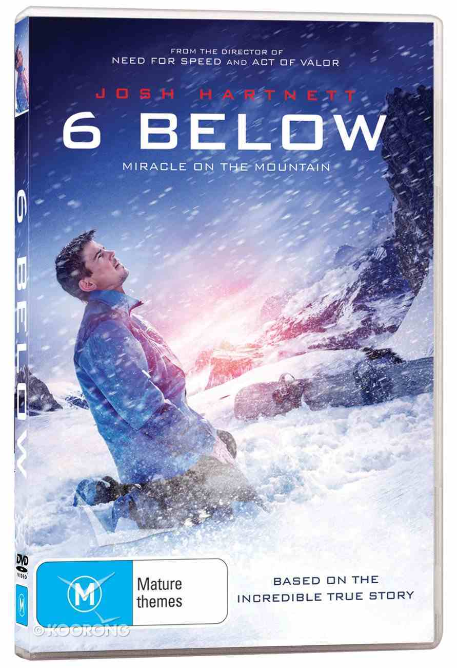 6 Below: Miracle on the Mountain DVD