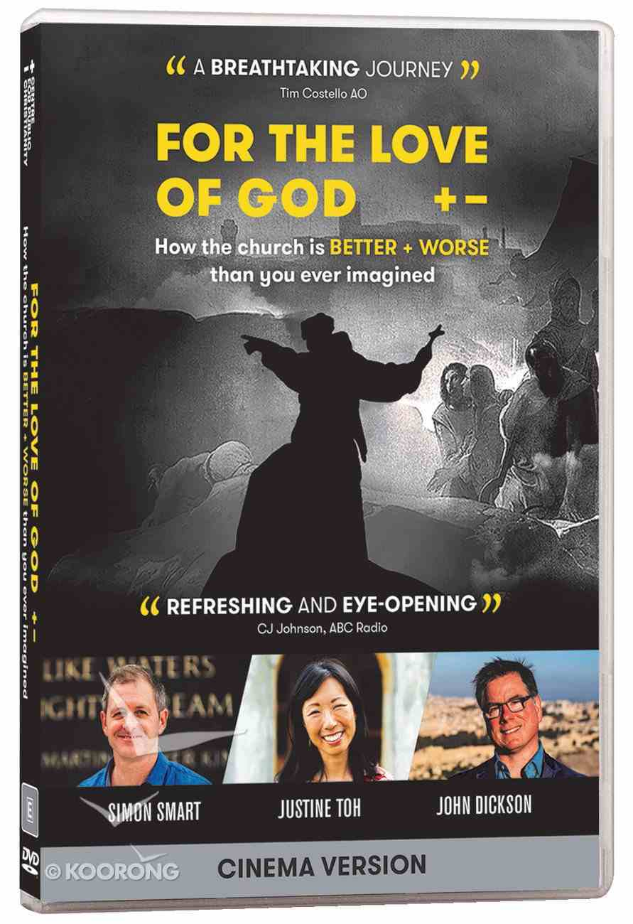 For the Love of God: How the Church is Better and Worse Than You Ever Imagined DVD