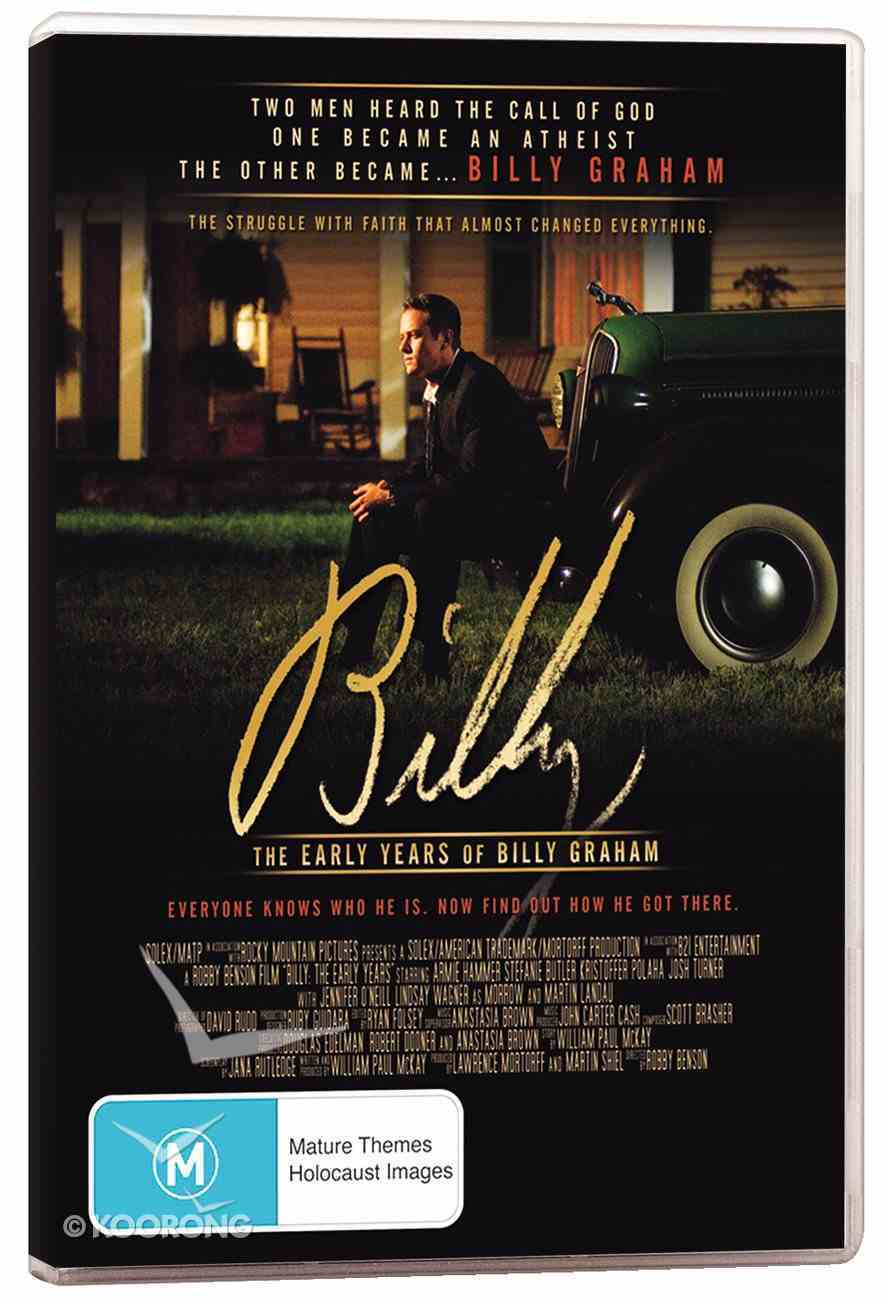 Billy: The Early Years of Billy Graham DVD