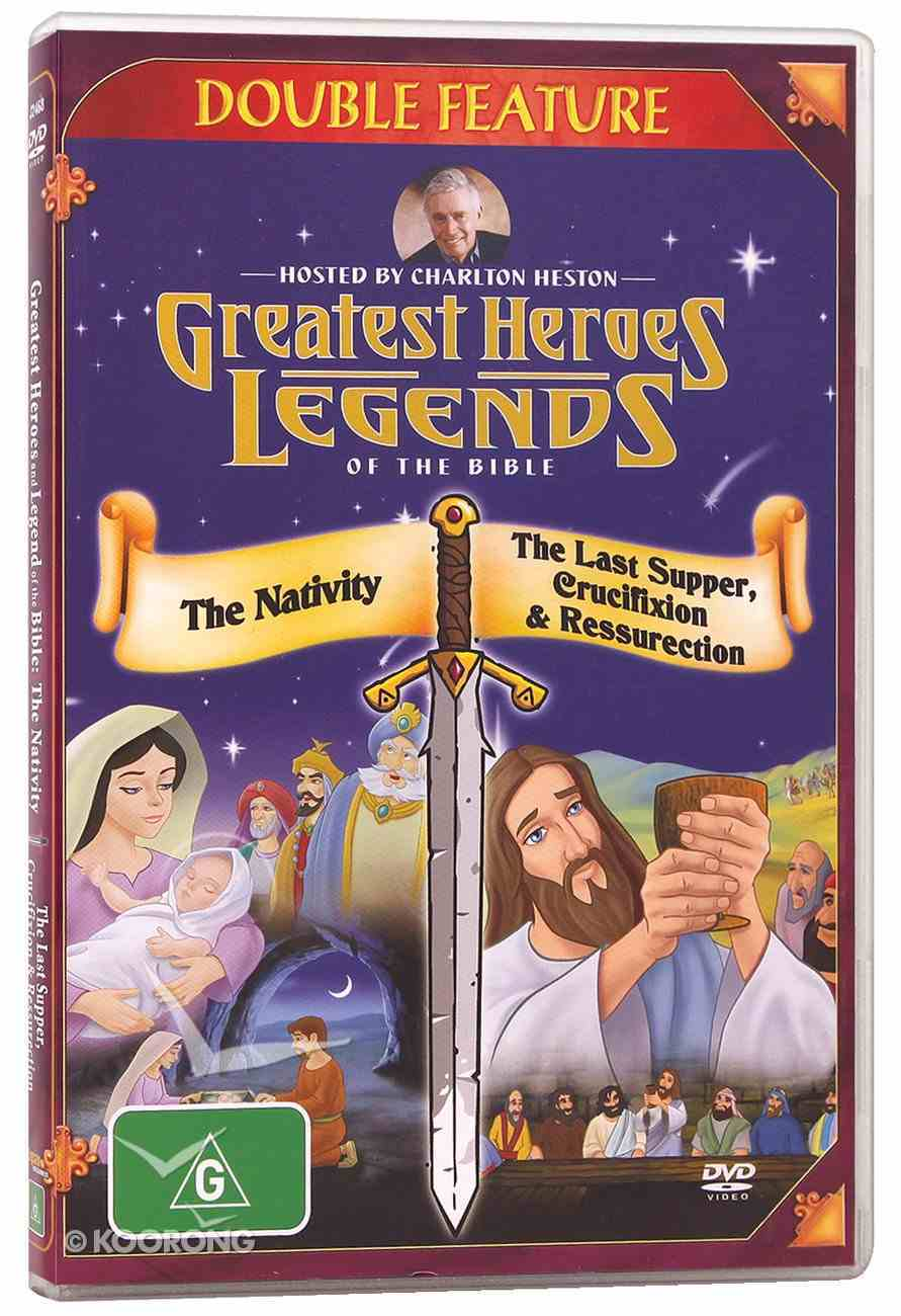 Nativity/The Last Supper, Crucifixion & Resurrection (Greatest Heroes & Legends Of The Bible Series) DVD