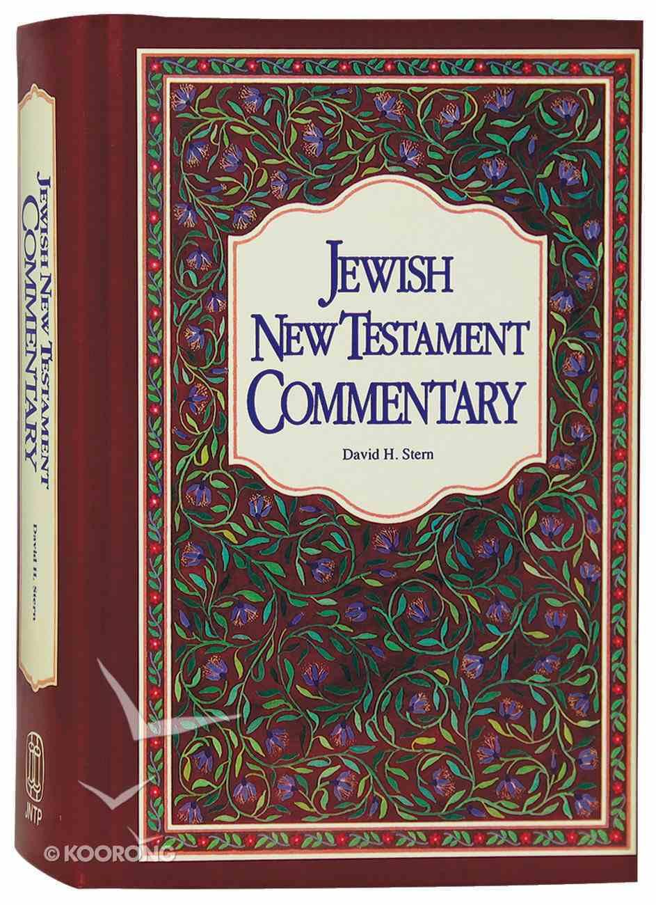 Jewish New Testament Commentary Hardback