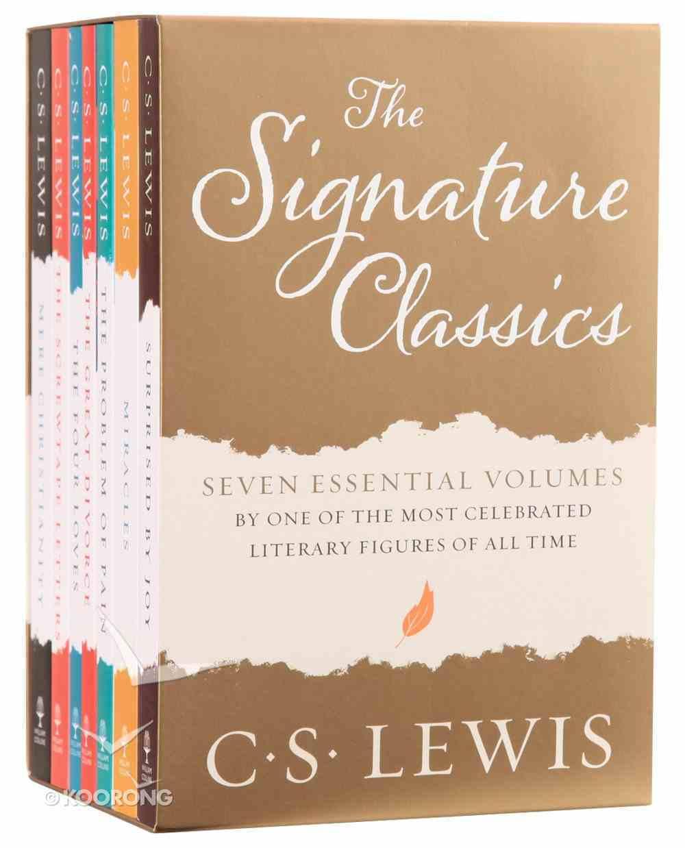 The Complete C S Lewis Signature Classics (7 Volume Set) Box
