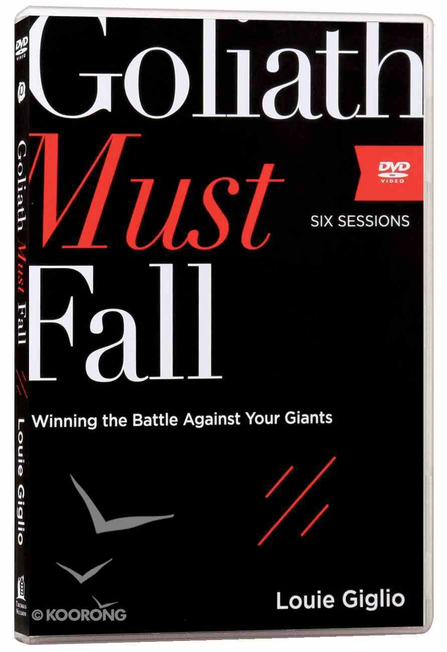 Goliath Must Fall: Winning the Battle Against Your Giants (A Dvd Study) DVD