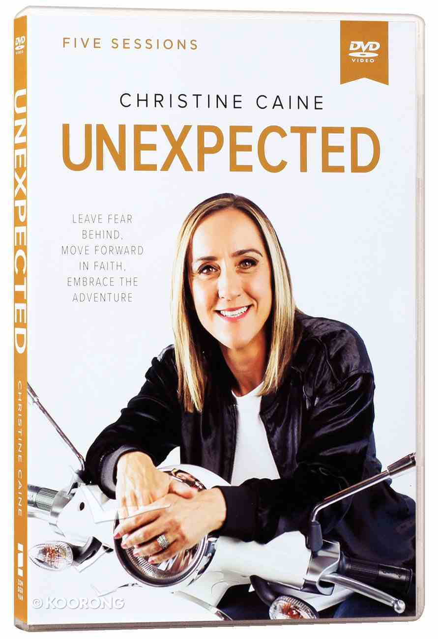 Unexpected: Leave Fear Behind, Move Forward in Faith, Embrace the Adventure (Dvd Study) DVD