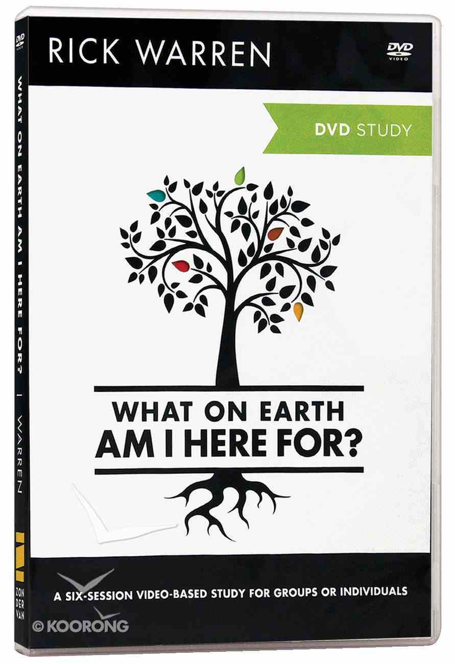 What on Earth Am I Here For? (DVD Study) (The Purpose Driven Life Series) DVD