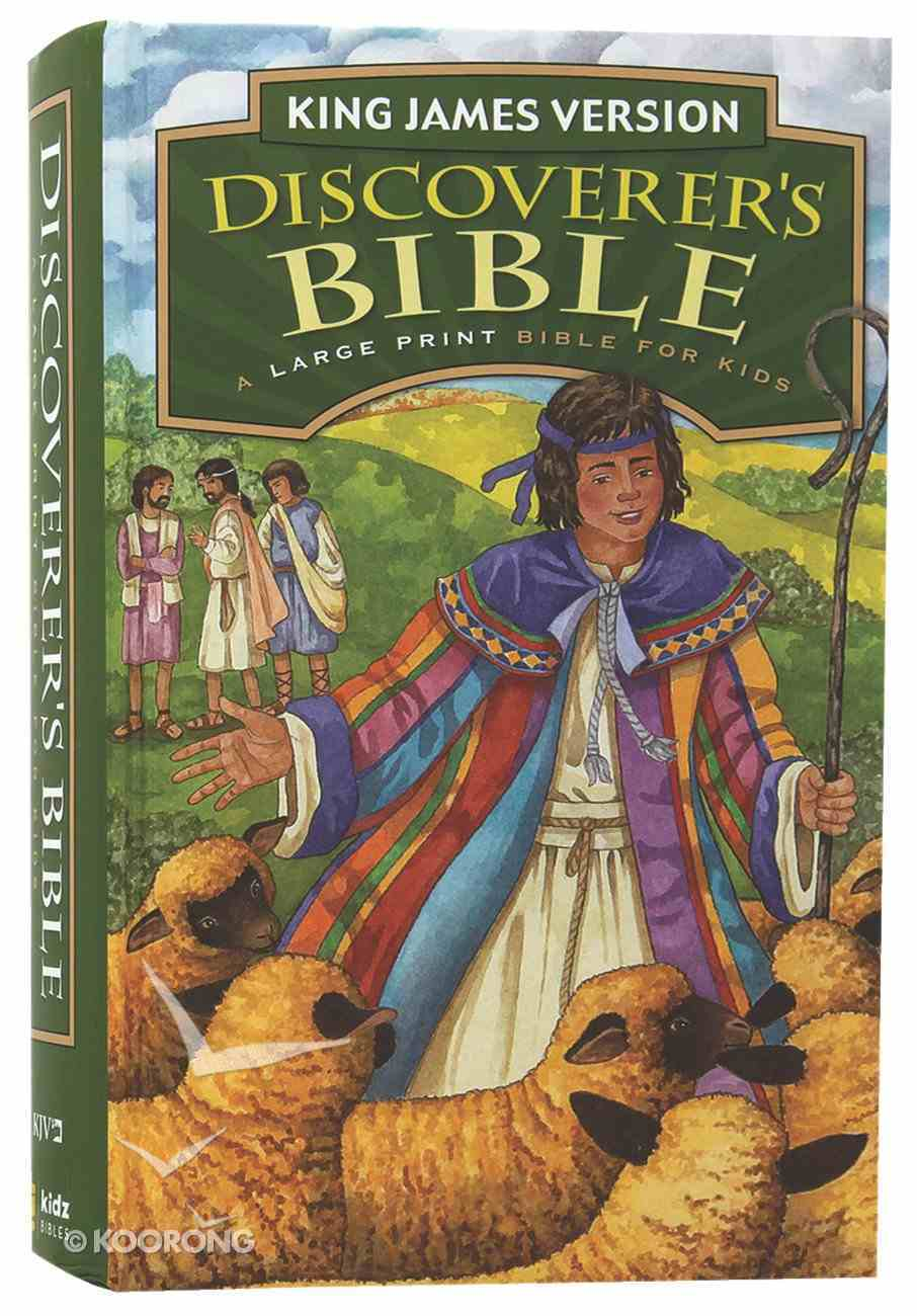 KJV Discoverer's Bible Large Print (Red Letter Edition) Hardback