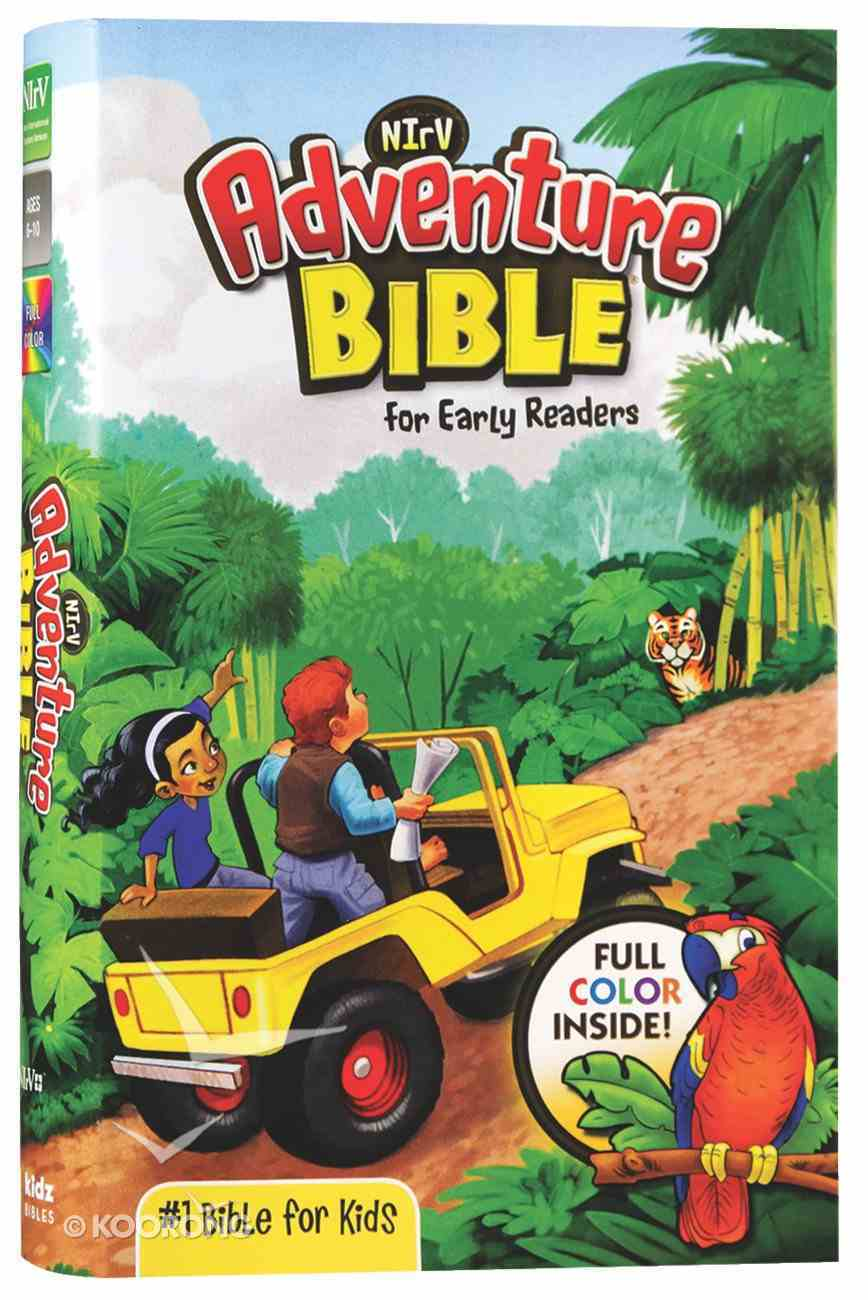 NIRV Adventure Bible For Early Readers (Black Letter Edition) Hardback