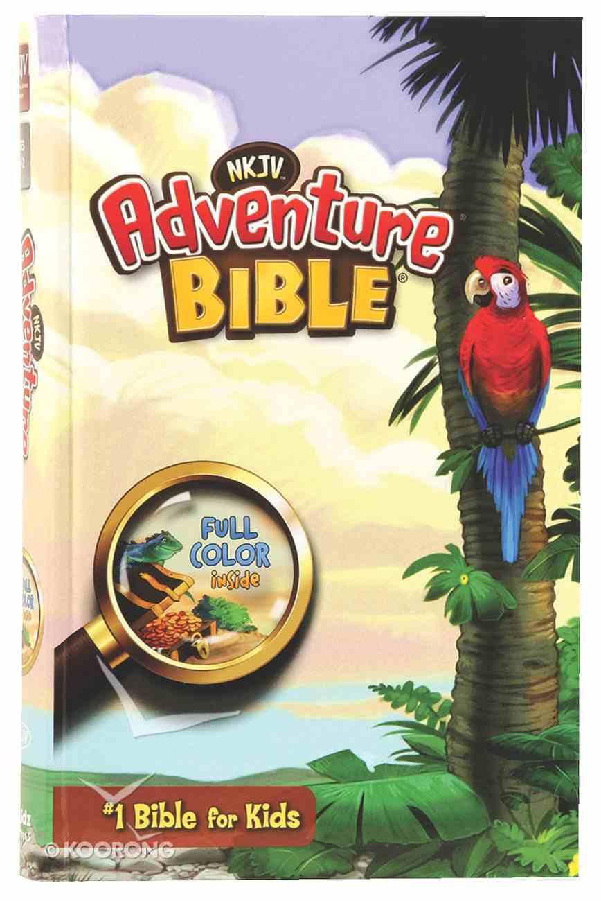 NKJV Adventure Bible (Black Letter Edition) Hardback
