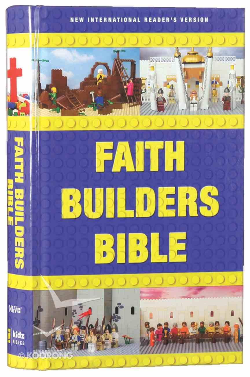 NIRV Faith Builders Holy Bible (Black Letter Edition) Hardback